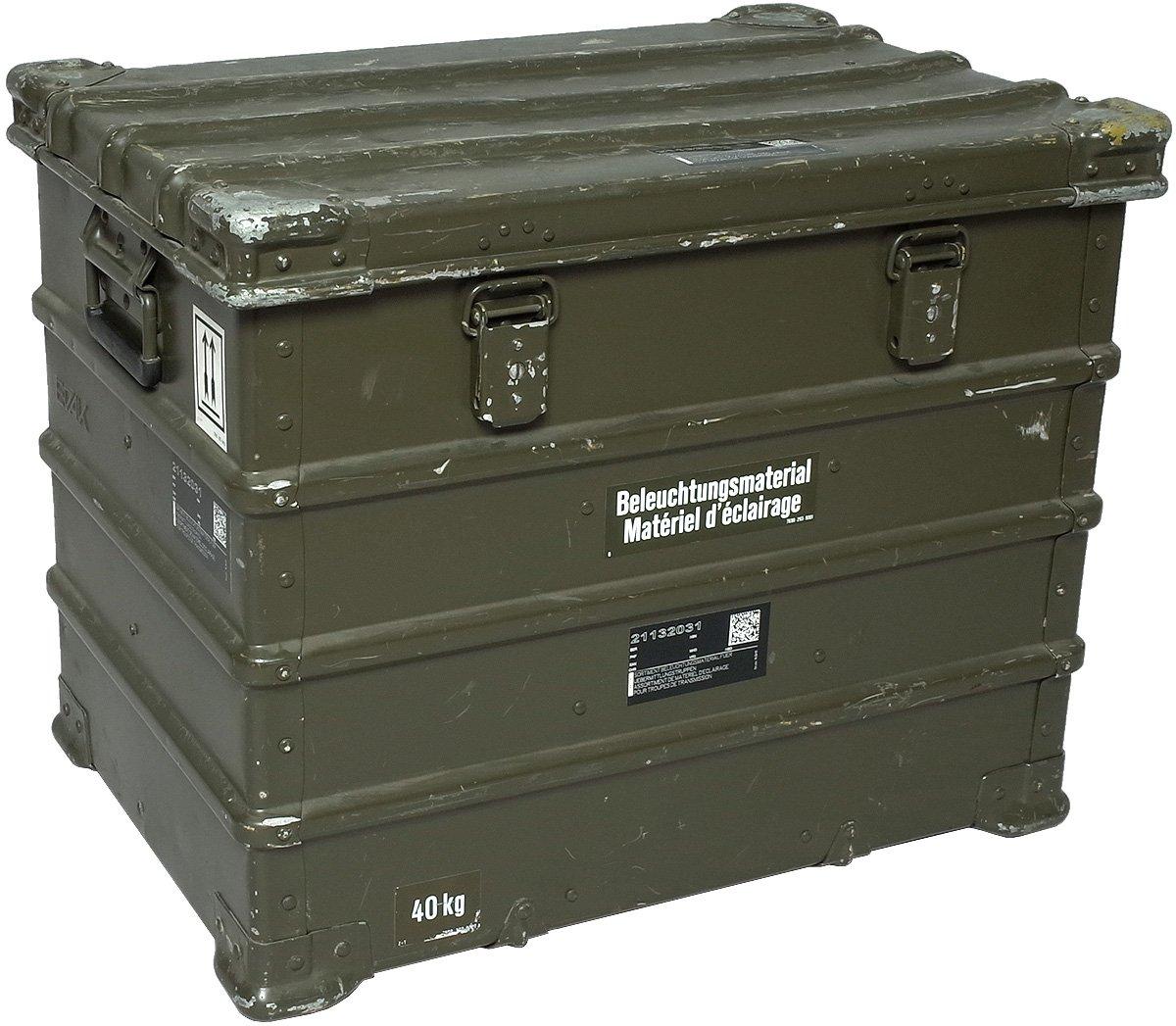 スイス軍 A10 アルミコンテナ USED B075H7KD3V