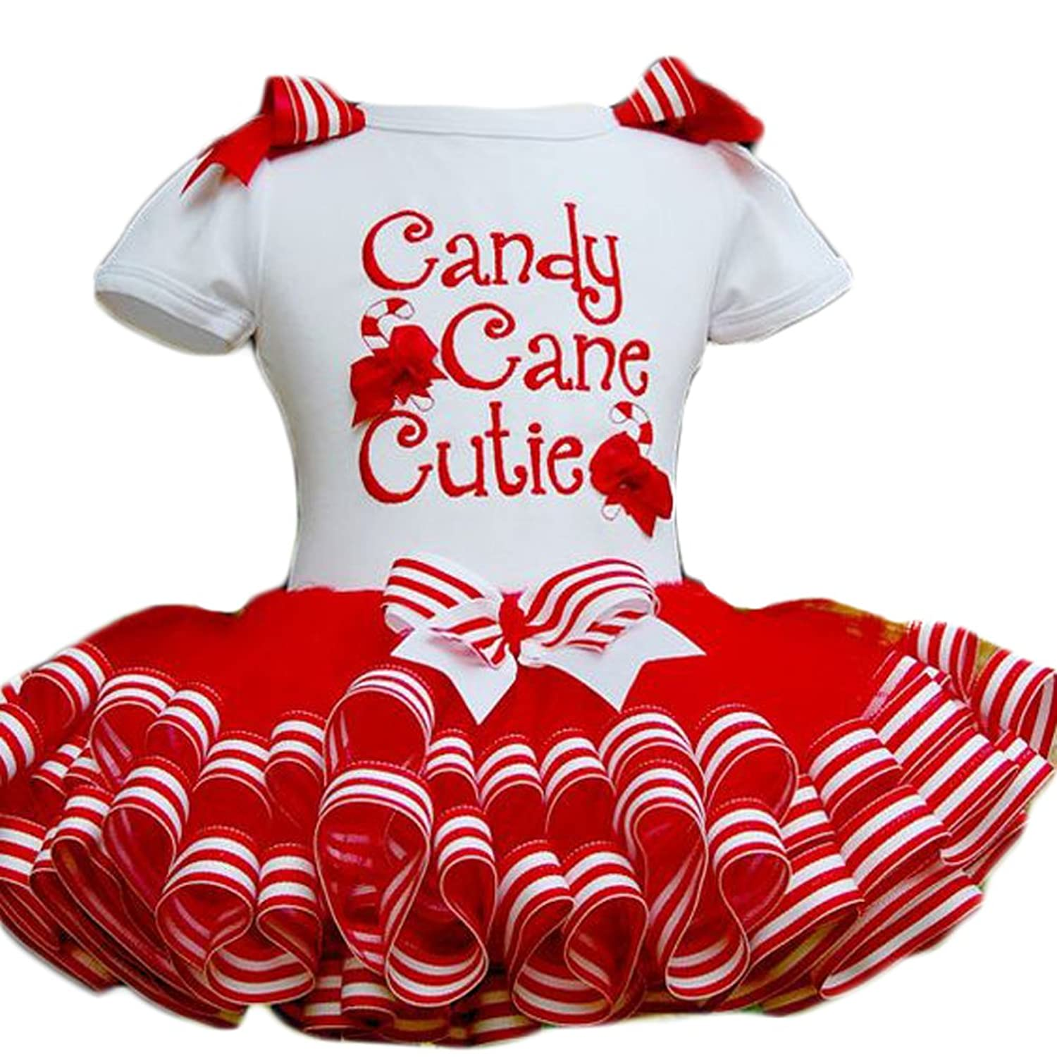 Amazon.com Charm Kingdom Little Girls Christmas Holiday Candy Cane Cutie Tutu Dress Clothing  sc 1 st  Amazon.com & Amazon.com: Charm Kingdom Little Girls Christmas Holiday Candy Cane ...