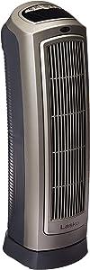 Lasko Space Heater, 8.5″L x 7.25″W x 23″H, 755320 (Renewed)