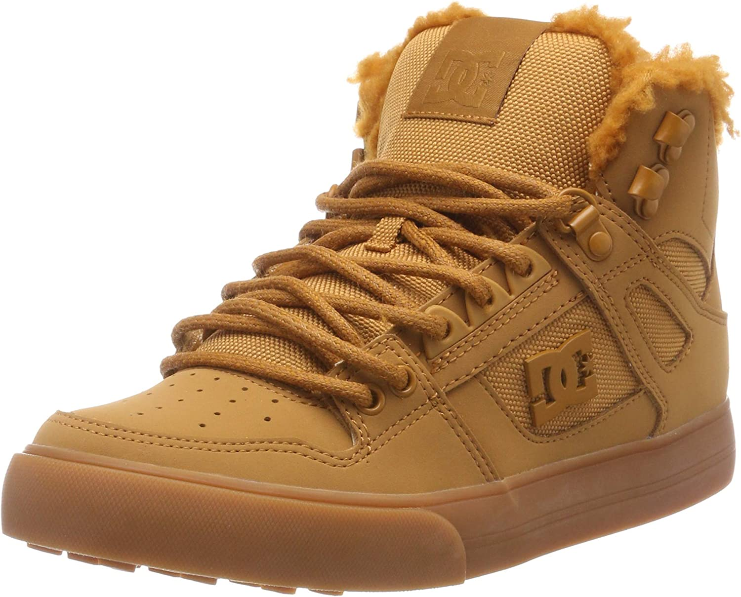 DC Shoes Mens Pure High Top Wc Winter Skateboarding Shoes