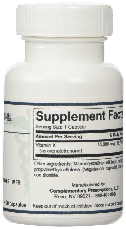 Amazon.com: Ultra K2 (Menatetrenone) - 90 Capsules by Complementary Prescriptions: Health & Personal Care