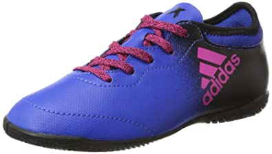 the latest 3bdf5 42547 adidas Unisex-Kinder X Tango 16.3 IN Fußballschuhe, Blau (Blue Shock Pink