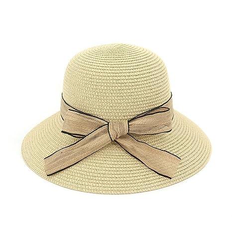 XZP sombreros de paja de verano be0536c5ed4