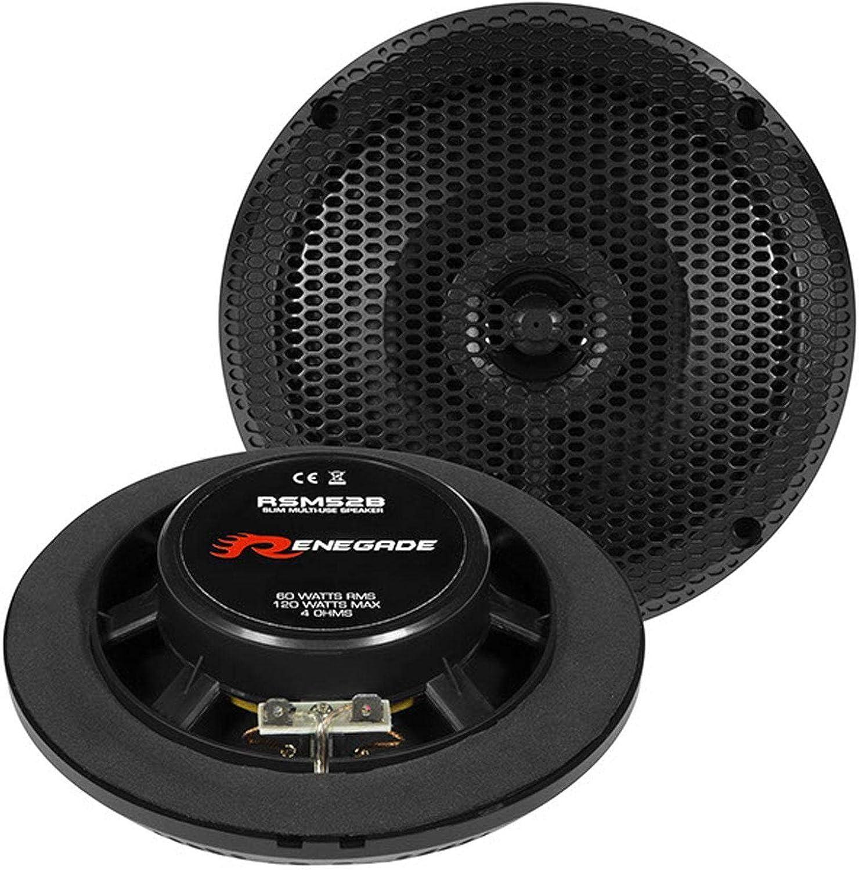 Renegade Rsm 52b 13 Cm 2 Wege Lautsprecher Mit 120 Watt Rms 60 Watt Navigation