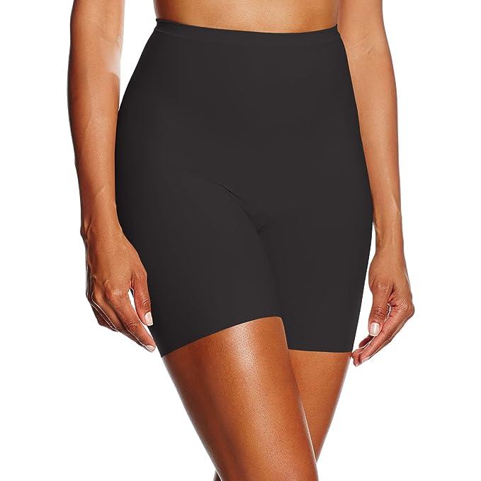 Lovable Guaina Gamba Lunga Gambaletto Smart Silhouette, Lencería Modelante para Mujer, Negro (004