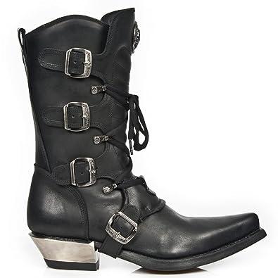 New S1 Herren 7993 Stiefel Cowboy Rock M Western Boots dxeoCrB