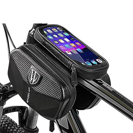 YUYAXBG Bolsas De Bicicleta Gran Capacidad Pantalla Táctil ...