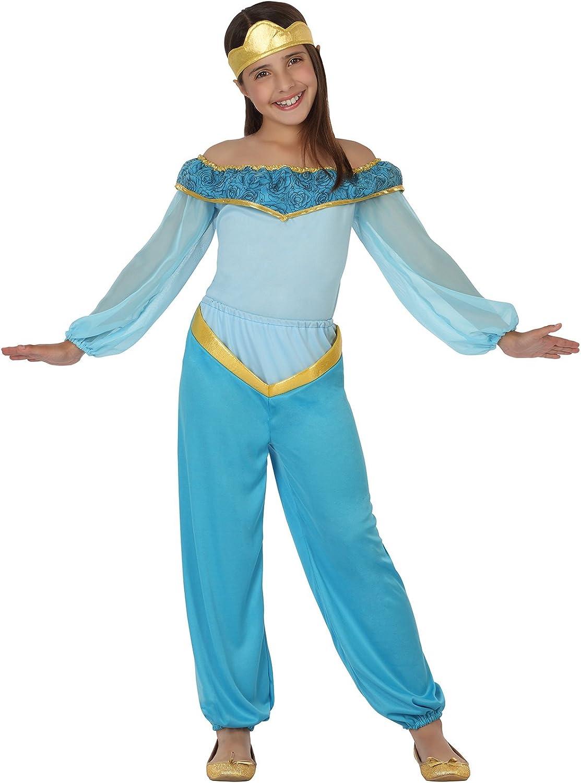 Atosa 26413 - princesa árabe, chica, tamaño 104, de color azul ...