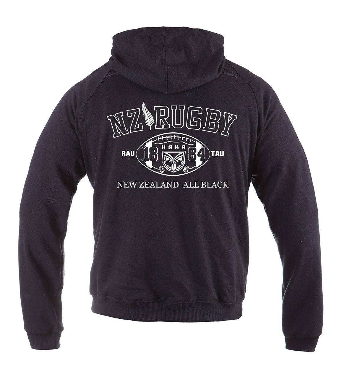 Dirty Ray Rugby New Zealand All Black sudadera hombre verano temporada media con capucha BL2 Model: BL2