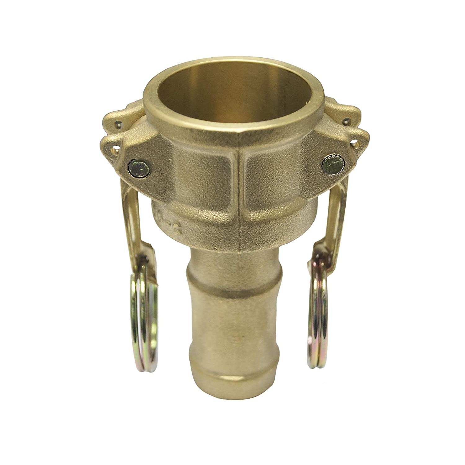 Camlock Type E Male Adapter 1//2 Cam and Groove Fitting Aluminium Material with Hose Shank