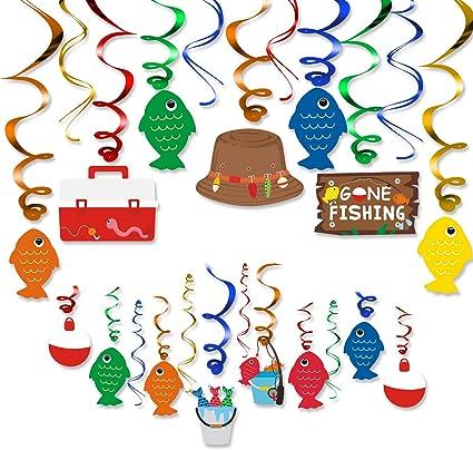 Amazon.com: Kit de decoración de remolino para fiesta de ...