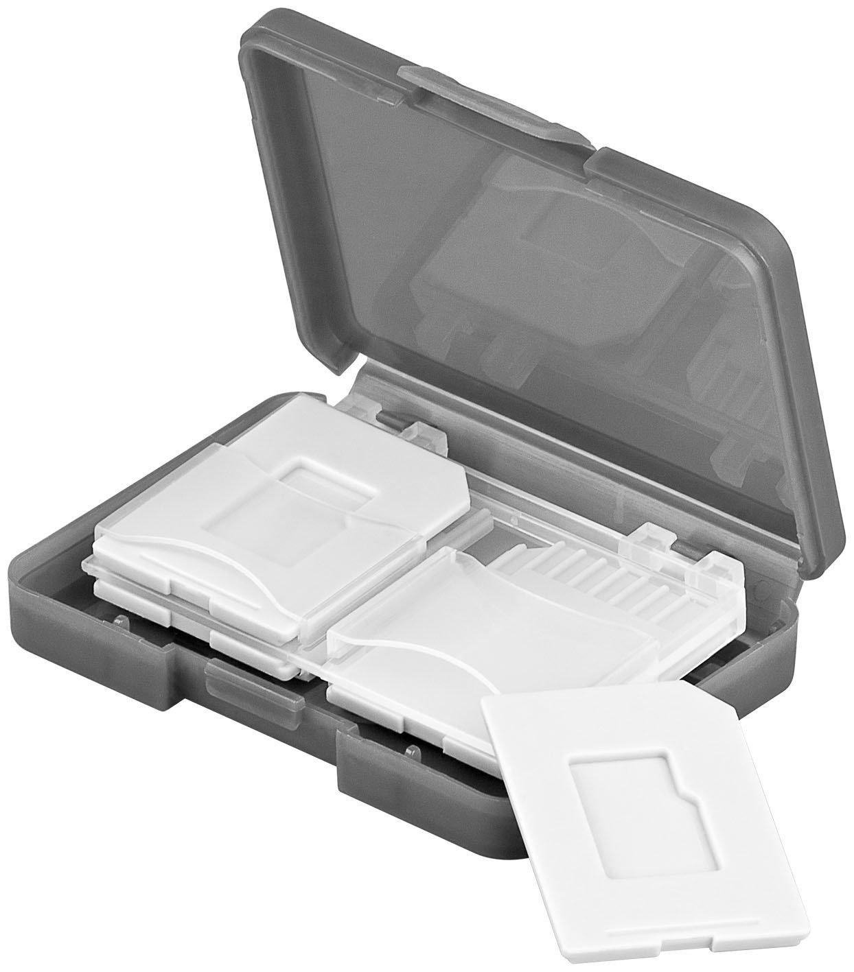 Contenitore per 4 schede SD 2 pezzi MANAX