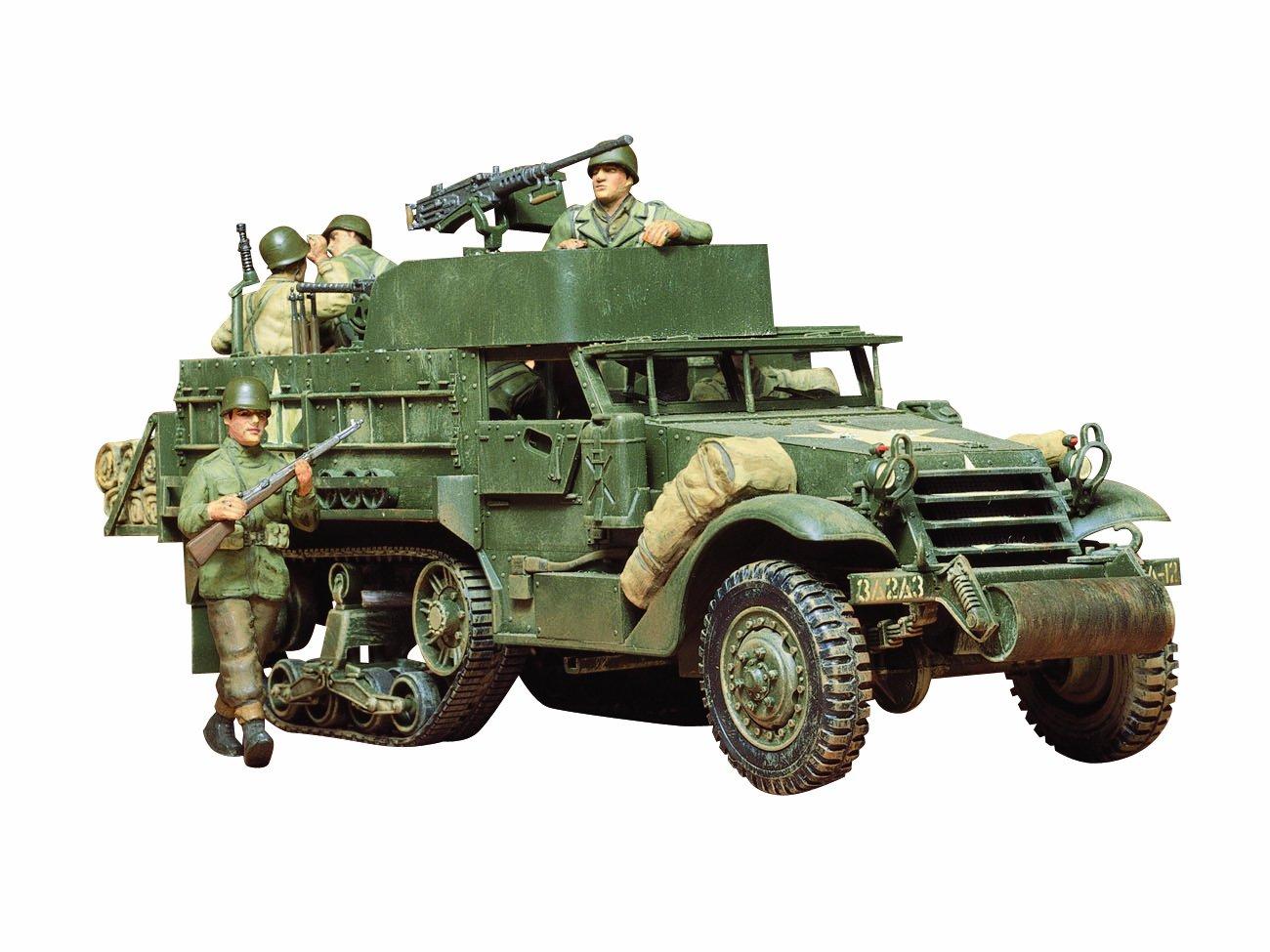 タミヤ アメリカ M3A2 パーソナルキャリヤー 35070 (1/35 ミリタリーミニチュアシリーズ No.70) B0006HNZWM