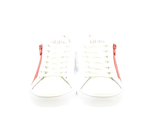 Uomo Biancorosso Guess Sneakers Guess ModFm5llo Uomo ModFm5llo Sneakers Biancorosso 92WEHDI