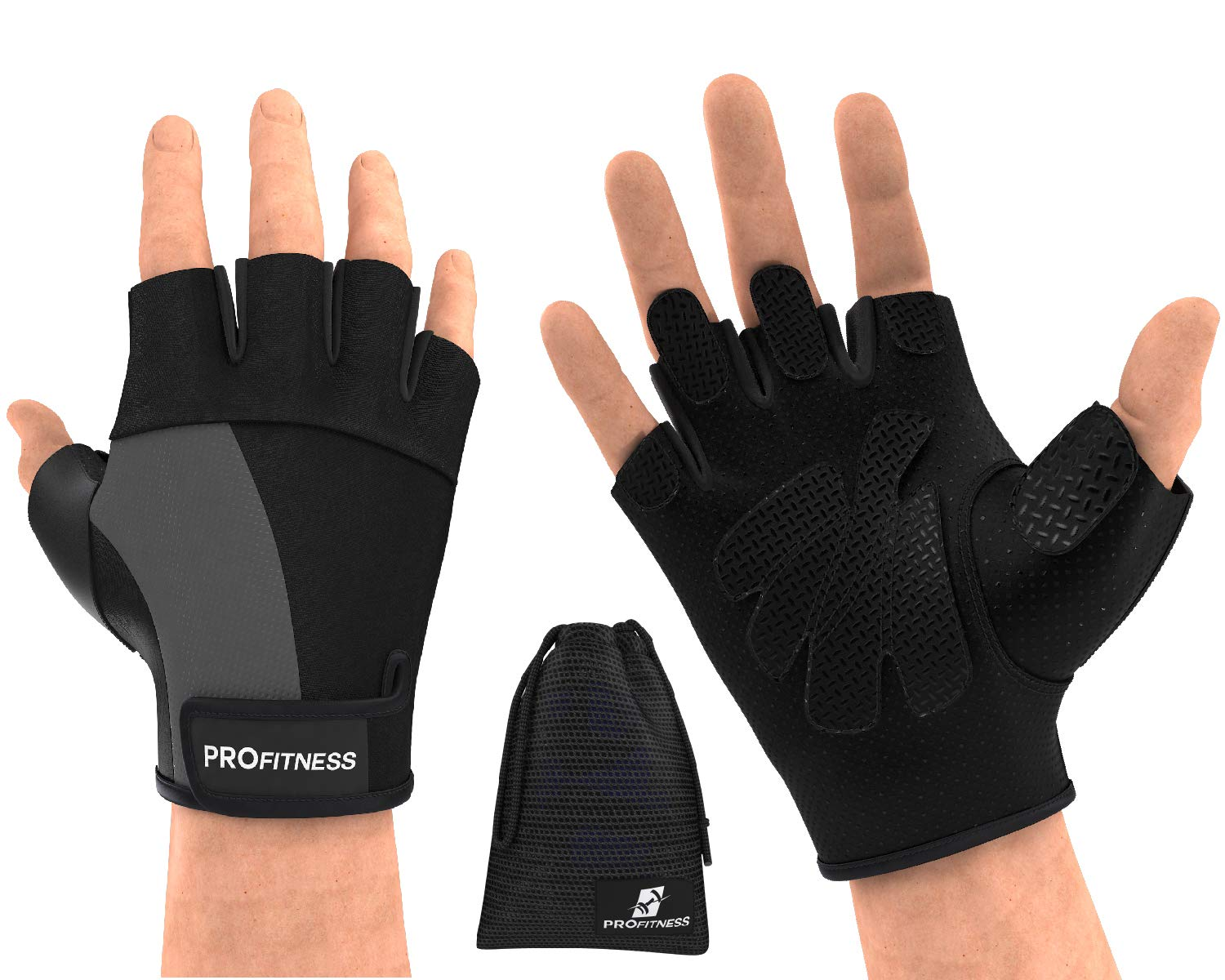 Crochet Back Padded Bodybuilding Exercise Gym Gloves Cycling Cycle Bike Gloves