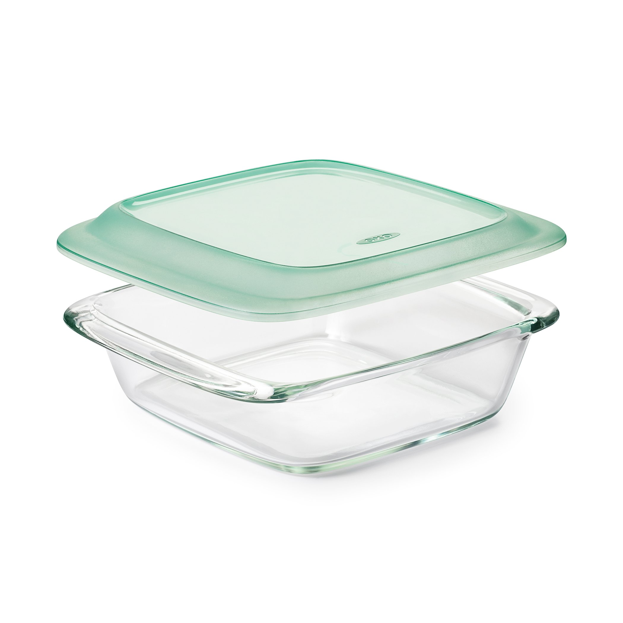 OXO Good Grips Freezer-to-Oven Safe 2 Qt Glass Baking Dish with Lid, 8 x 8 by OXO