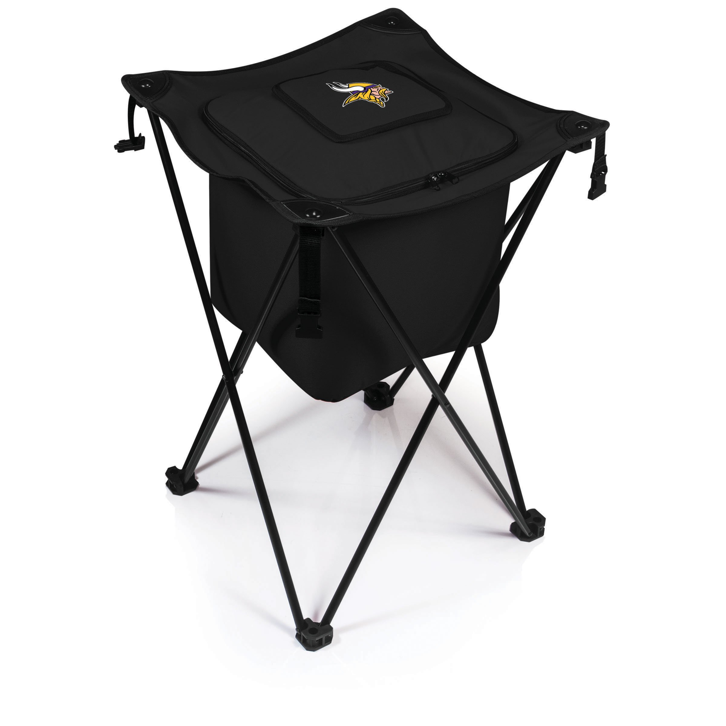 PICNIC TIME NFL Minnesota Vikings Sidekick Portable Standing Cooler, Black