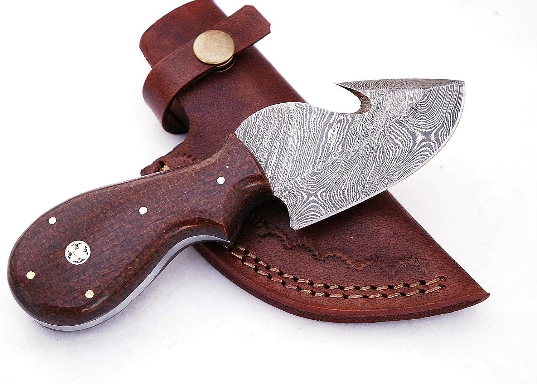 FineEdge Custom Handmade Damascus Blade Hunting knife 1051