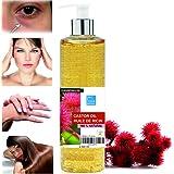 Aceite de Ricino Puro Natural 500 ml - Castor Oil - Aceite de Belleza Anti bolsas