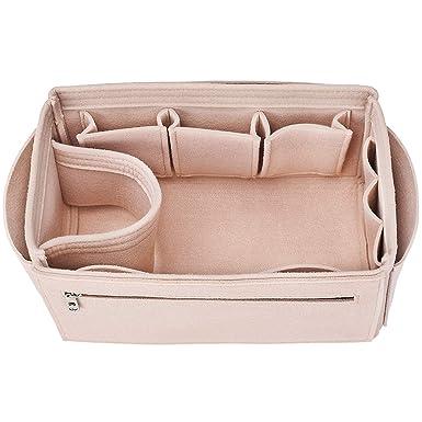 Amazon.com  Felt Insert Bag Organizer Bag In Bag For Handbag Purse ... d94a2834d7f33