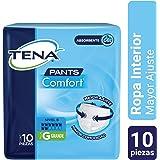 TENA Pants Comfort; Ropa Interior Desechable para Incontinencia, Talla Grande; TENA; 10 Piezas