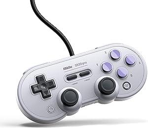 8Bitdo SN30 Pro USB Gamepad for Nintendo Switch, Windows, Raspberry Pi (SN Edition)