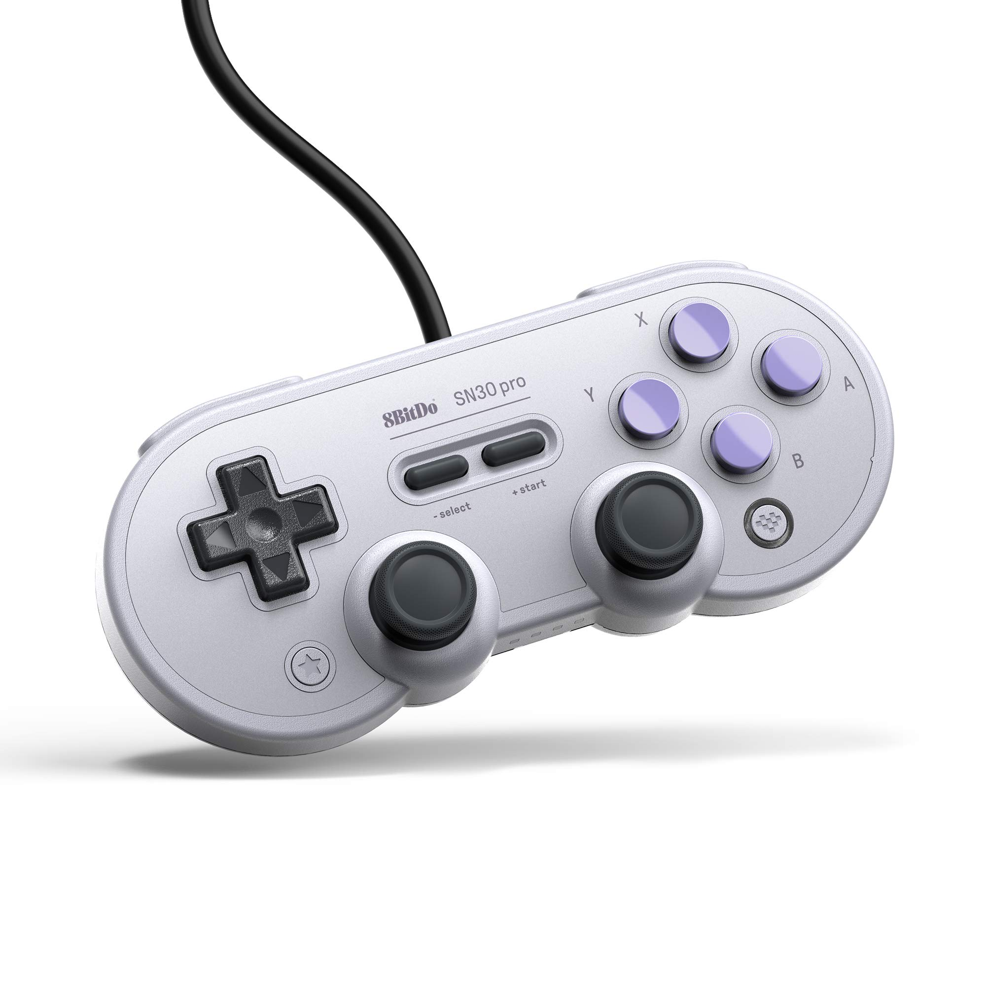 8Bitdo SN30 Pro USB Gamepad for Nintendo Switch, Windows, Raspberry Pi (SN Edition)