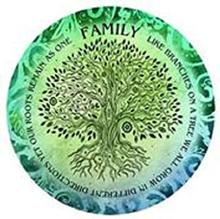 product image for Family Roots 24 inch Round Wall Art
