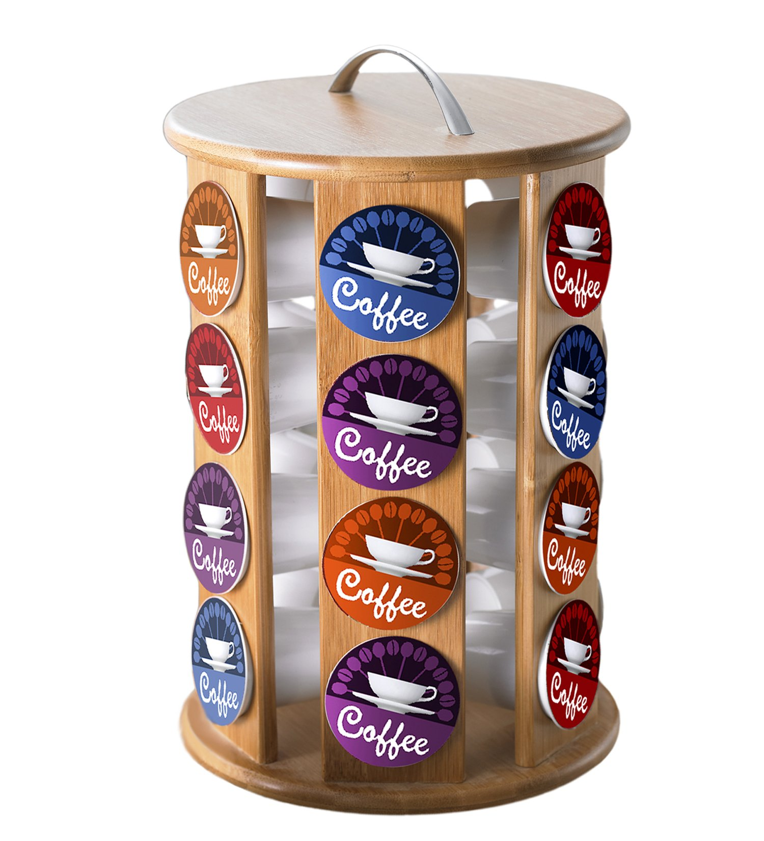 Creative Home 73460 Single Serve Revolving Coffee Pod Holder