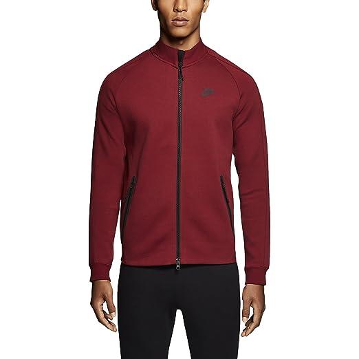 cc06c5232584 Nike  614376-695  TECH Fleece N98 Apparel Apparel NIKEBURGUNDY RED