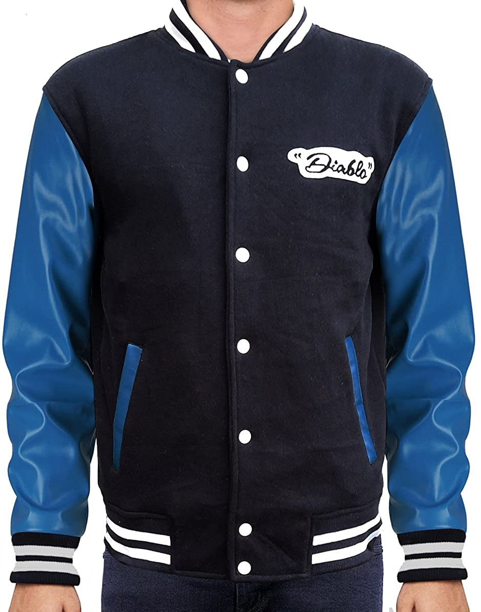 OBX Fashion Diablo Men's Varsity Jacket