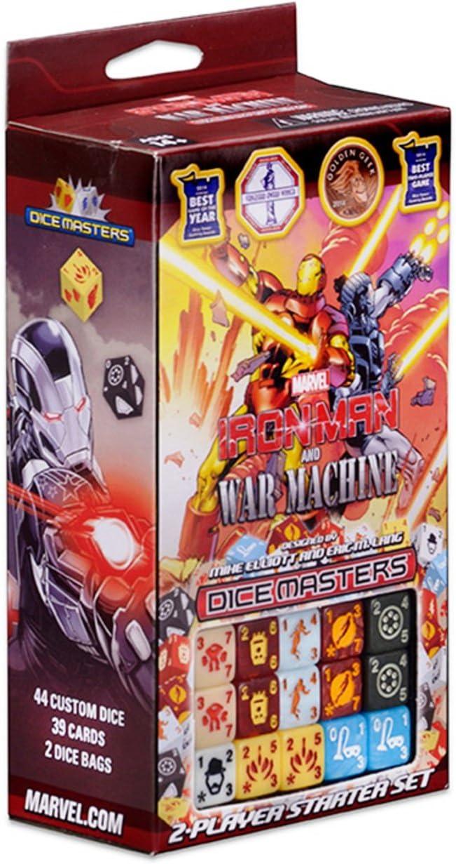Marvel Dice Masters Iron Man and War Machine Starter by Wizkids