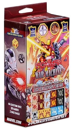 Marvel Dice Masters Iron Man & War Machine Starter: Amazon ...