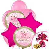 Twinkle Twinkle Little Star Pink Party Supplies - Balloon Bouquet