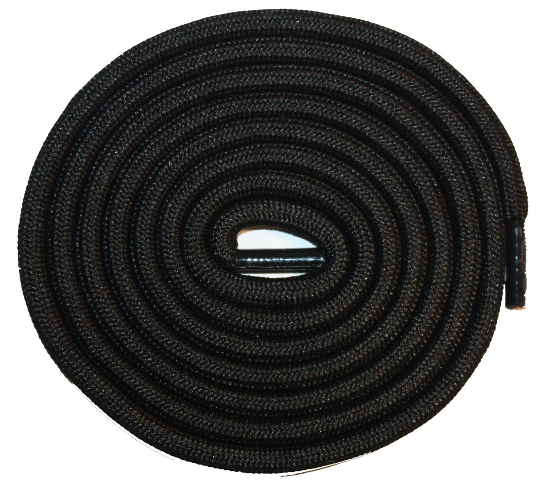 Cotton Round Non Waxed 55'' 4mm 4mm (Black)