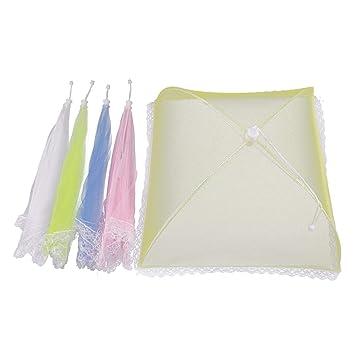 protectores de paraguas de malla para mantener los insectos o moscas lejos de la comida en