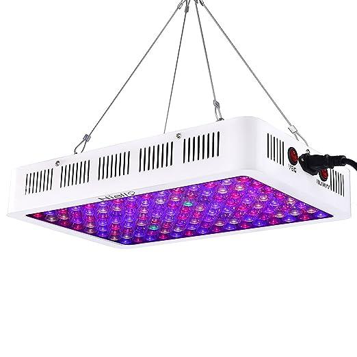 1 opinioni per Niello® spettro completo LED coltiva la luce 600W Luce Pianta con UV e IR per