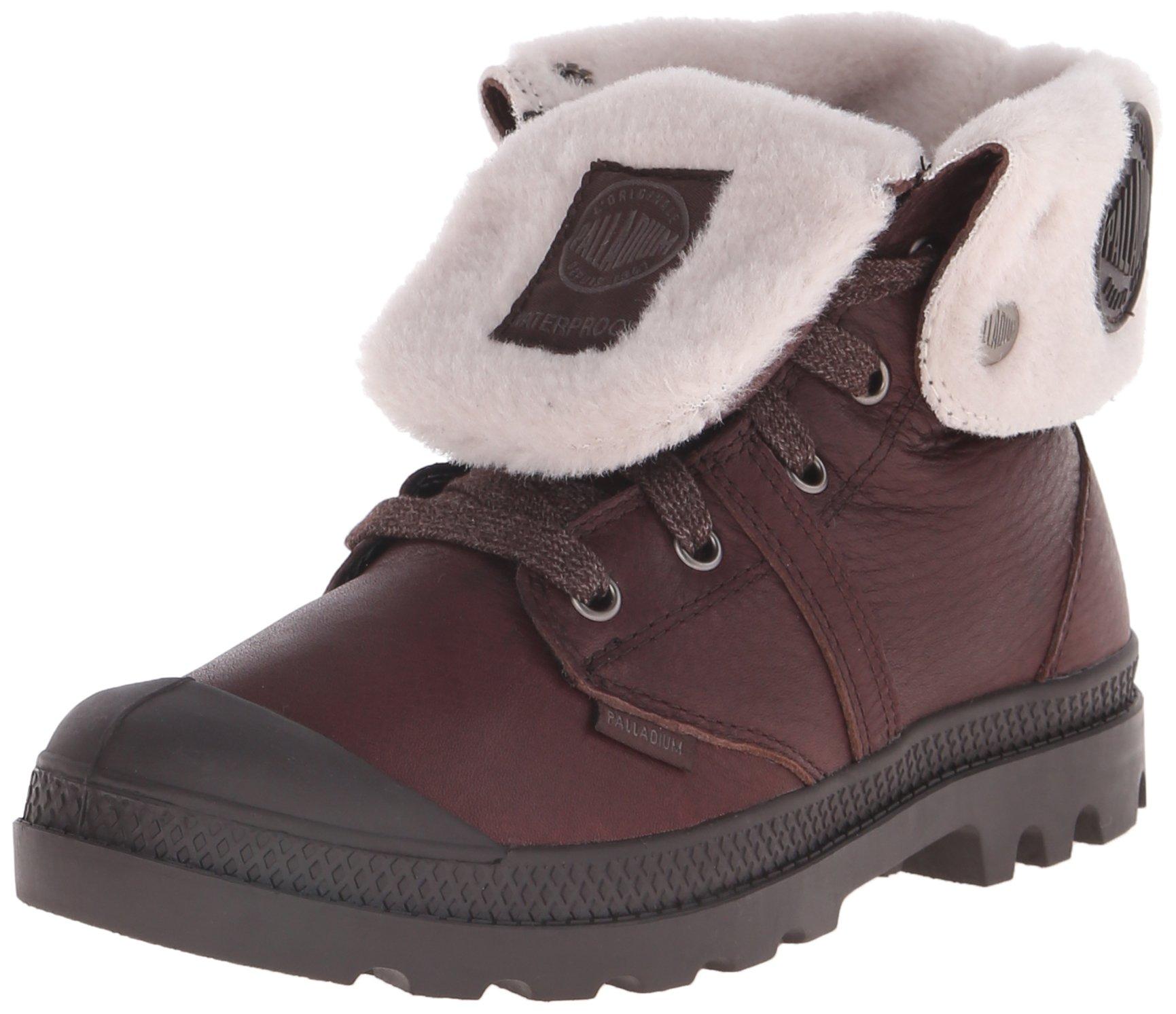 Palladium Women's Pallabrouse Baggy WPS Rain Boot, Chocolate, 8 M US