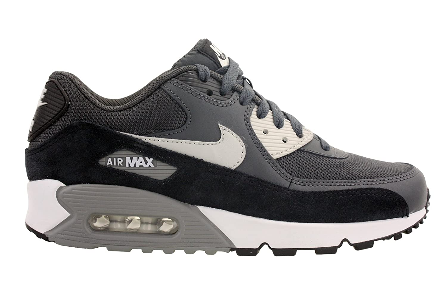 brand new a696c 3bbd9 Amazon.com   Nike Mens Air Max 90 Essential Running Shoes  Anthracite Black Granite 537384-035 Size 15   Shoes