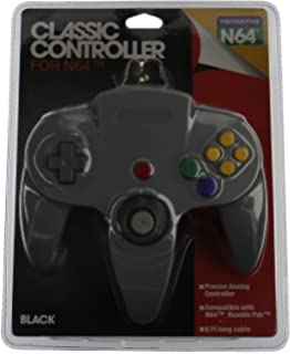 amazon com classic linker n64 for nintendo wii and gamecube gen classic n64 controller grey