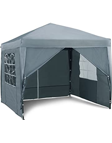2bedb15521ebc5 ... Camping Tent Canopy Wedding Marquee Awning Shade 3mx3mx2.45m · VonHaus  2.5M and 3M Pop Up Gazebo Sets – Outdoor Garden Marquee with Water-
