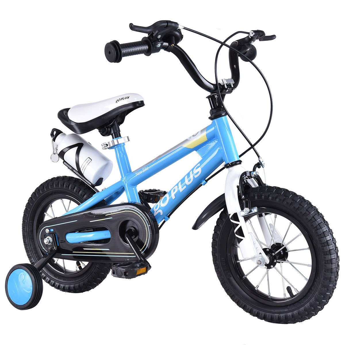 172d07ce53d Goplus BMX Freestyle Kids Bike Boy's and Girl's Bicycle with Training  Wheels Perfect Gift for Kids