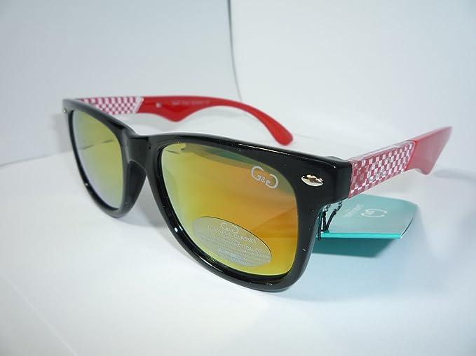 Gafas de sol diseño Wayfarer carreras: Amazon.es: Ropa y ...
