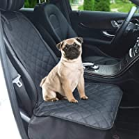 Dog Car Front Seat Cover, Waterproof & Non-Slip Pet Car Seat Protector Cover Against Pet Hairs & Soiling