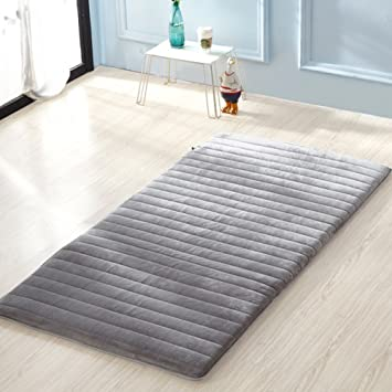 FUIOLWP Colchón/Dormitory Plegable Piso/./Individual,Espesar, colchón Tatami-C 120x200cm(47x79inch): Amazon.es: Hogar