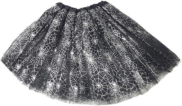 BESTOYARD Falda de tutú de Web de araña de Halloween Vestido de ...