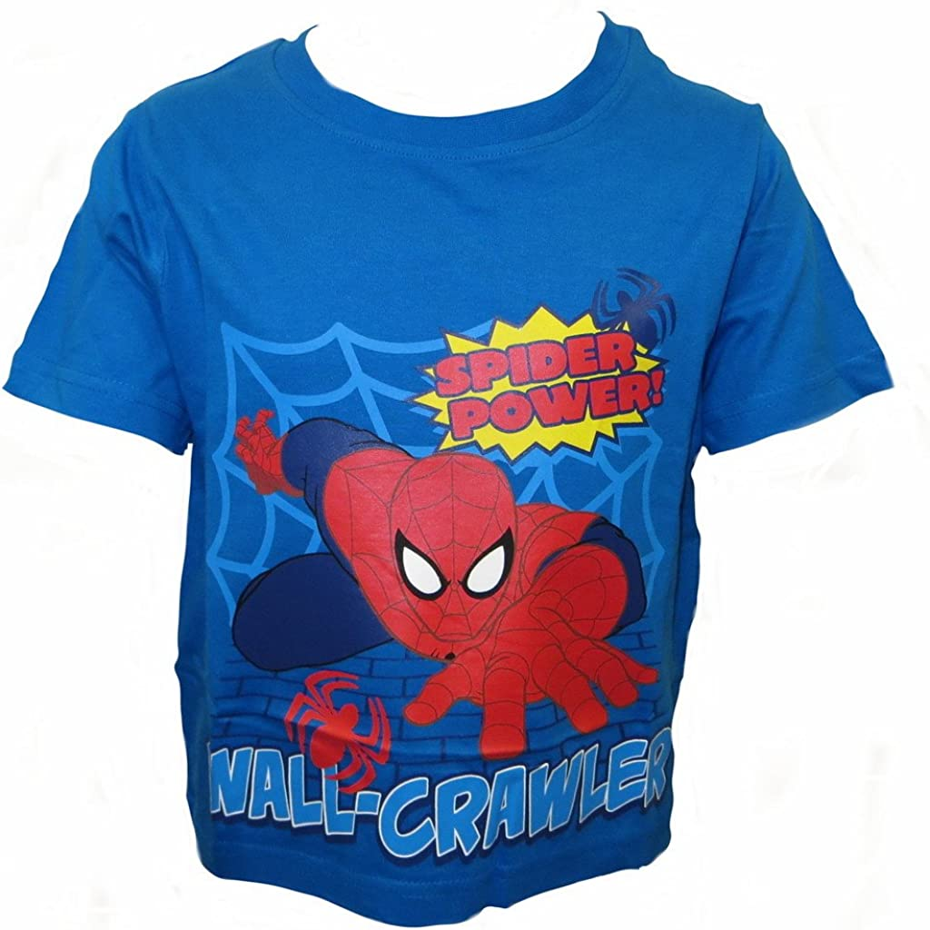 Spiderman Boys T-Shirt Ages 18 Months 8 Years Available