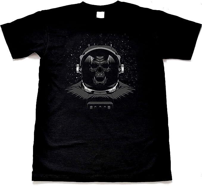 9850b2ca672 Dead Space T-Shirt - Men s Black Skull T Shirt  Amazon.co.uk ...