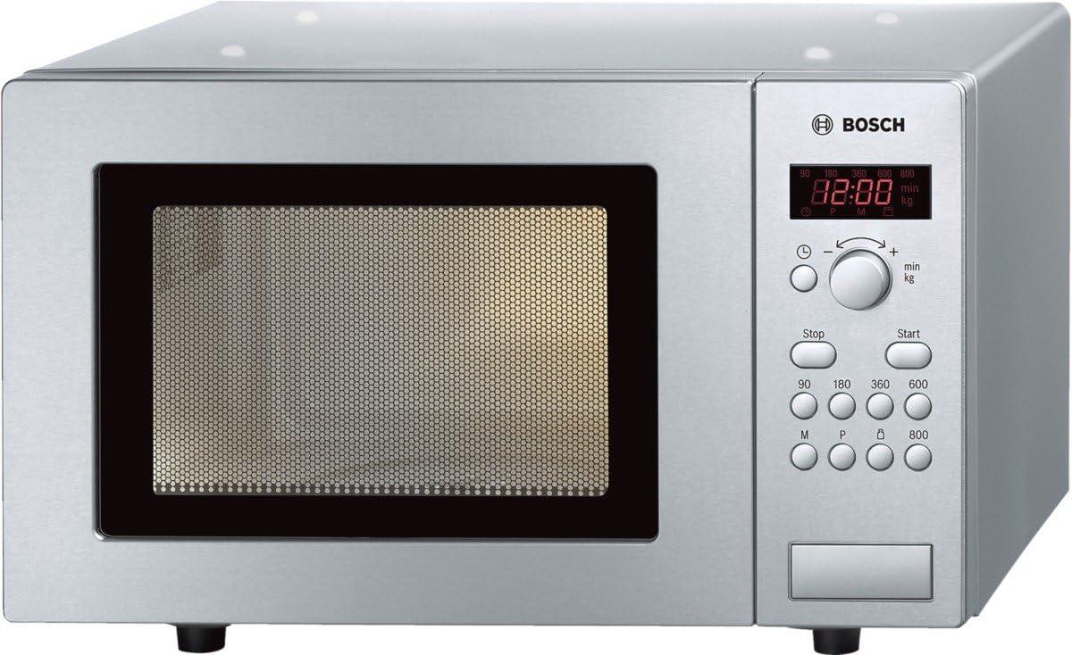 Bosch HMT75M451 - Microondas, 1270 W, 230V, 50Hz, Acero inoxidable, 29 x 46 x 35 cm
