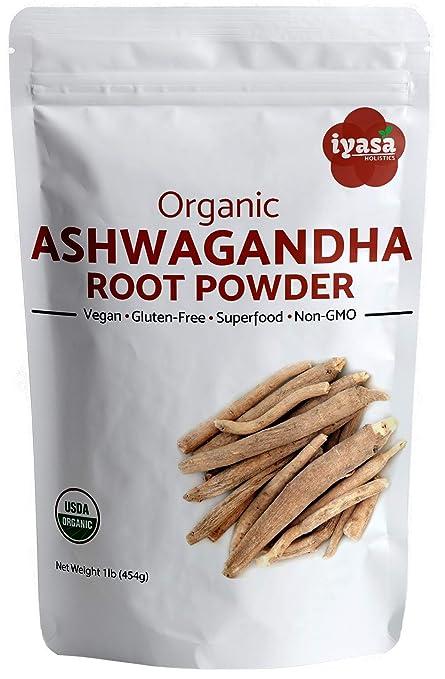 Polvo de Ashwagandha orgánico, Withania Somnifera, 100 ...